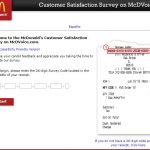 Mcdvoice – McDonald's Survey @ www.mcdvoice.com